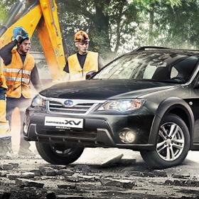 Subaru XV pressa